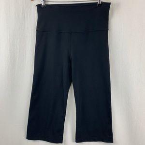 Lululemon Black Wide Leg Reversible Capri 8